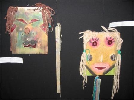 Kleurplaten Maskers Afrika.Afrikaanse Maskers Maken Knutselen Afrika