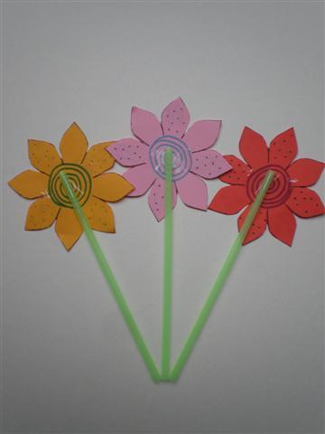 Knutselen Bloemen Met Foto