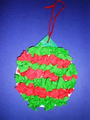 Knutselopdrachten Nl Knutselen Kerstbal Met Cr 234 Pepapier