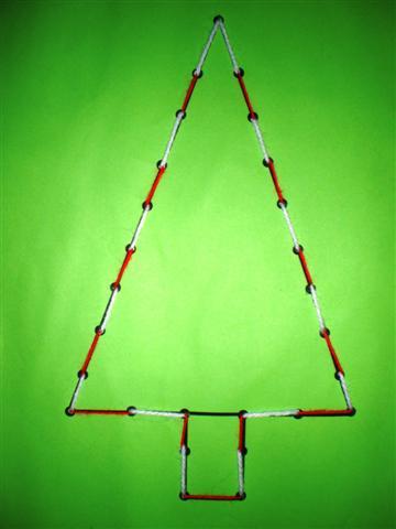 Knutselopdrachten Nl Knutselen Kerstboom Borduren