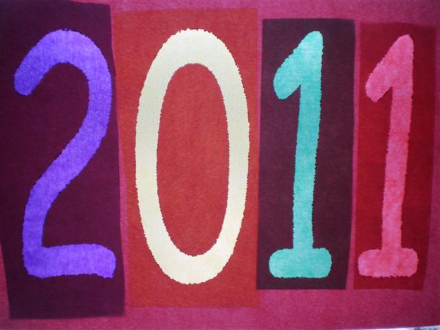 Knutselen: Raamdecoratie Nieuwjaar