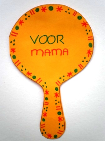 spiegel knutselen voor moederdag