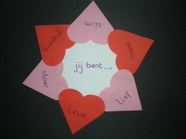 Knutselen valentijnskrans for Dingen voor moederdag